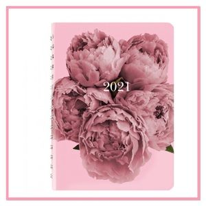BLUELINE Pink 2021 Daily Planner NWT